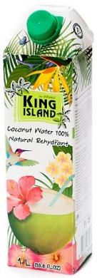 Вода кокосовая KING ISLAND, 1000 мл