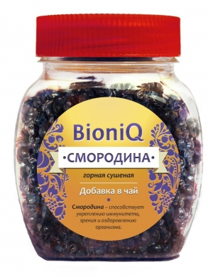 Смородина сушеная BioniQ, 65 гр