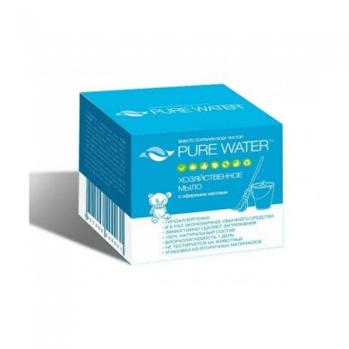 Хозяйственное мыло Pure Water с эфирными маслами, 175 гр