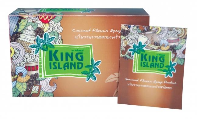 Кокосовый сахар King island (саше), 160 г