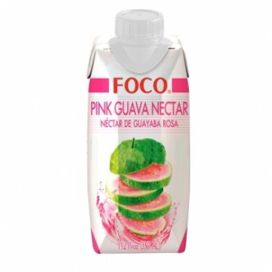 Нектар Розовой гуавы FOCO, 330мл