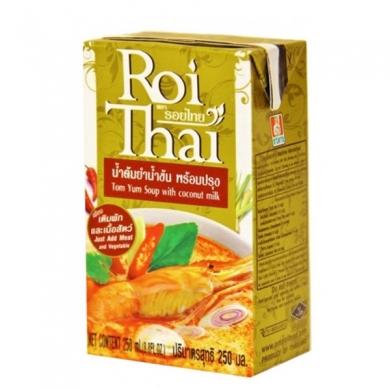 Суп Том Ям с кокосовым молоком Roi Thai, 250 мл