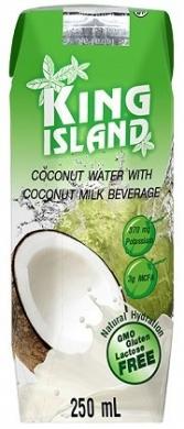 Напиток кокосовый KING ISLAND, 250 мл