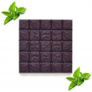 Шоколад Горький с мятой, 90гр