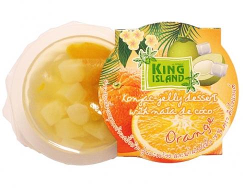 Фрукты в желе с конжаком (Апельсин), 120г