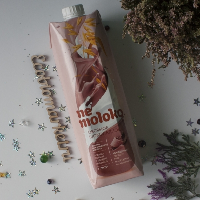 Овсяное шоколадное Nemoloko, 1л