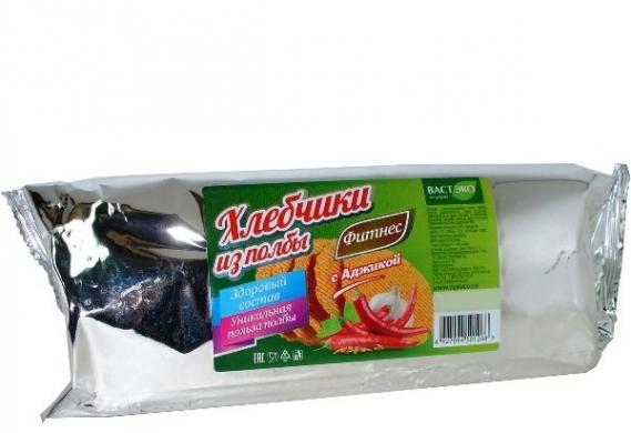 Хлебчики из полбы с аджикой Вастэко, 70 гр