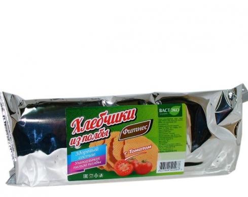 Хлебчики из полбы с томатом Вастэко, 70 гр