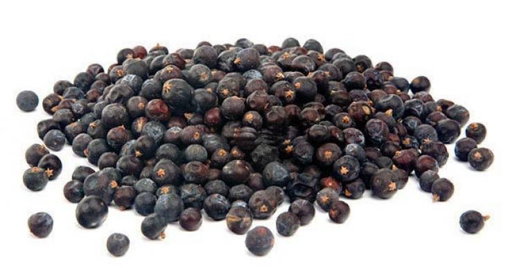 Можжевеловые ягоды сушеные, 100г