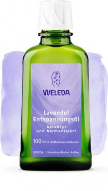 Расслабляющее масло с лавандой Weleda, 100мл