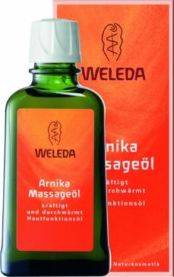 Массажное масло с арникой Weleda, 100мл