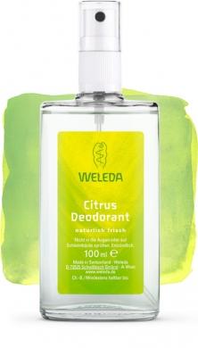 Цитрусовый дезодорант Weleda, 100мл