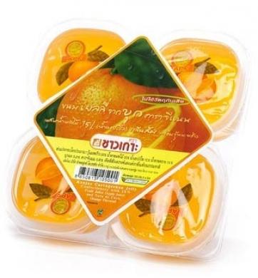 Конжаковое желе Апельсин CHAOKOH, 115гх4шт