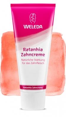 Растительная зубная паста Ратания Weleda, 75мл