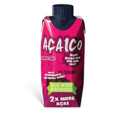 Натуральный смузи с ягодой асаи ACAICO, 330 мл