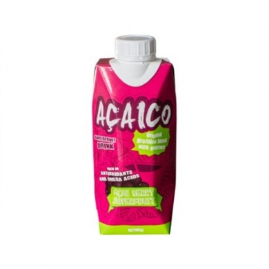 Натуральный напиток с ягодой асаи ACAICO, 330 мл