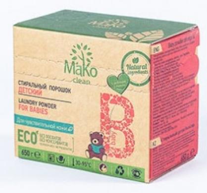 Порошок стиральный MaKo Clean