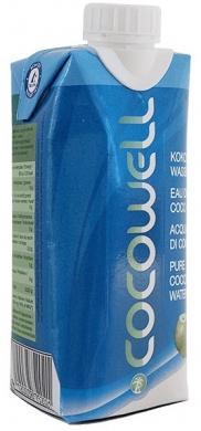 Кокосовая вода Cocowell PURE, 330 мл