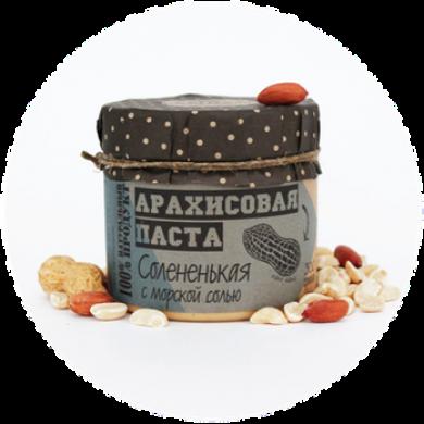 Арахисовая паста с морской солью, 300гр