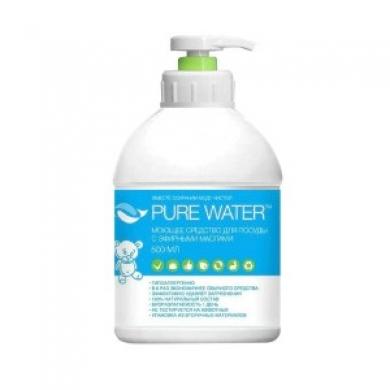 Средство для посуды Pure Water с эфирными маслами, 500 мл