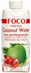 Кокосовая вода FOCO с гранатом, 330мл