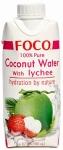 Кокосовая вода FOCO с личи, 330мл