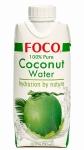Кокосовая вода FOCO, 330мл