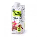 Вода кокосовая с шоколадом KING ISLAND, 330 мл