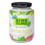 100% натуральное кокосовое масло King Island (банка), 450 мл