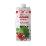 Кокосовая вода FOCO с гранатом, 500мл