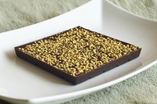 Шоколад Горький с пчелиной пыльцой, 90гр
