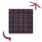 Шоколад Горький с красным перцем, 90гр