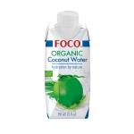 Кокосовая вода FOCO органическая, 330мл